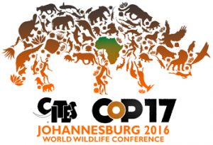 CITES Conference of Parties 17 (South Africa, Sept 2016)