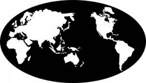 World Map B&W