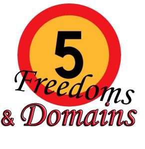 5 FREEDOMS & DOMAINS