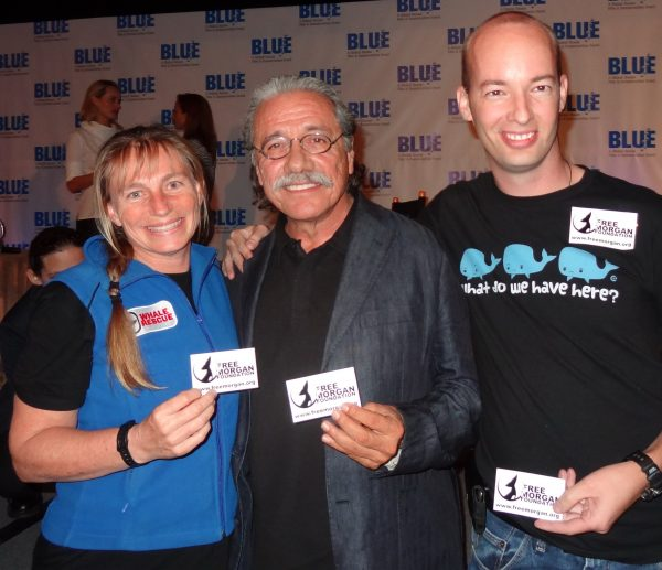 Dr Ingrid Visser, Edward James Olmos, Terry Hardie, BLUE 2012