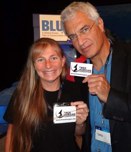 Dr Ingrid Visser & Oscar-award winning film maker Louis Psihoyos