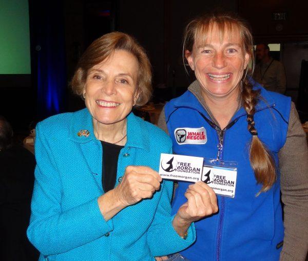 Dr Syliva Earle & Dr Ingrid Visser, BLUE 2012